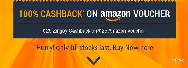 Zingoy Amazon Cashback
