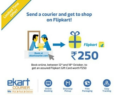 ekart-courier-flipkart-offer