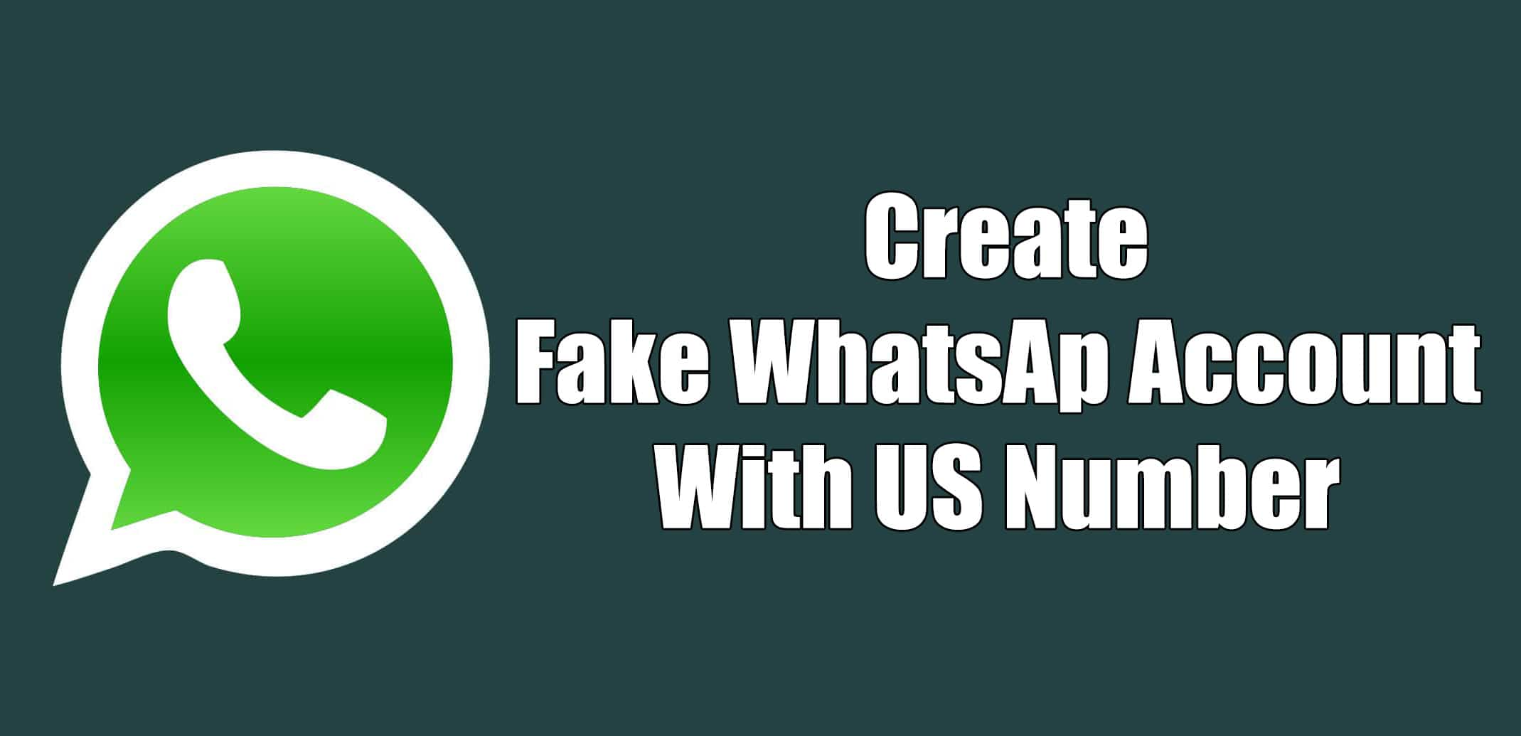how to use whatsapp with fake number