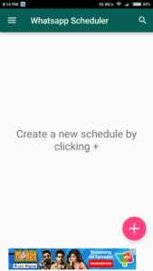 Scheduler For Whatsapp