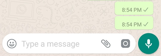 WhatsApp Blank Message