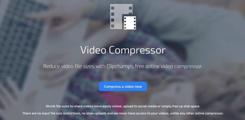 ClipChamp Video Compressor