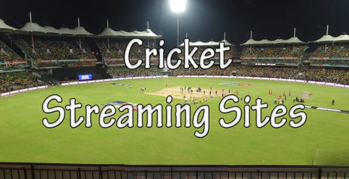 Live Cricket Streaming Sites