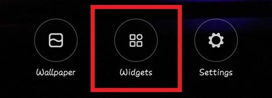 Change Icon Size Widget
