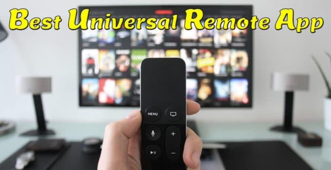 Best Universal Remote App