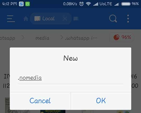 Nomedia Android