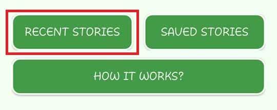 Recent Stories WhatsApp Download