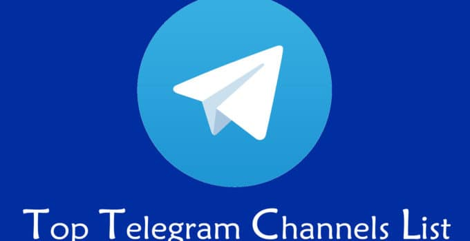 Telegram Channels List