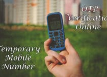 Temporary Mobile Number India