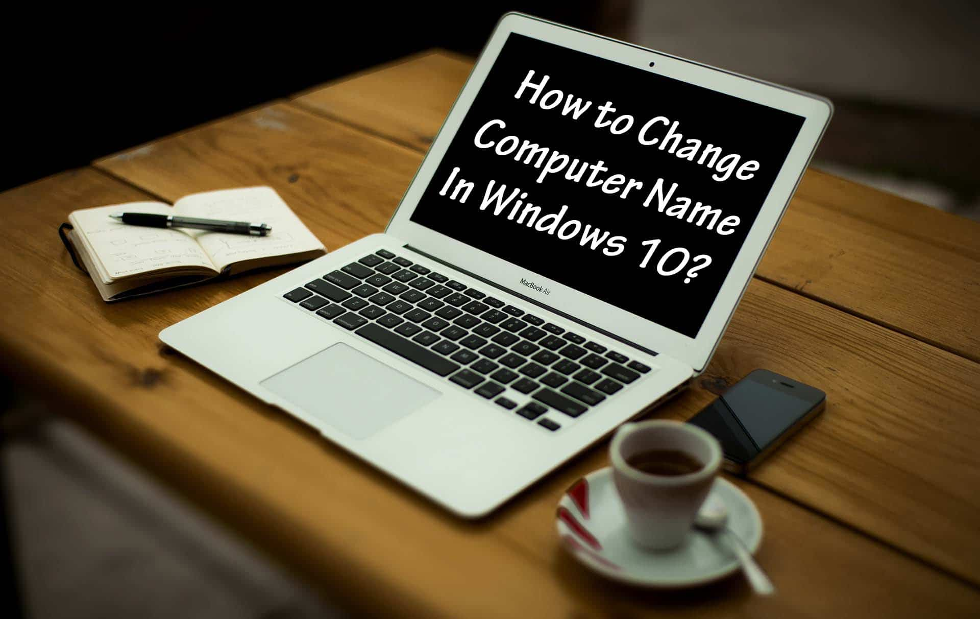 Change Computer Name Windows 10