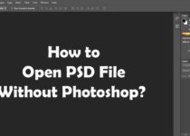 Open PSD File Without Photoshop