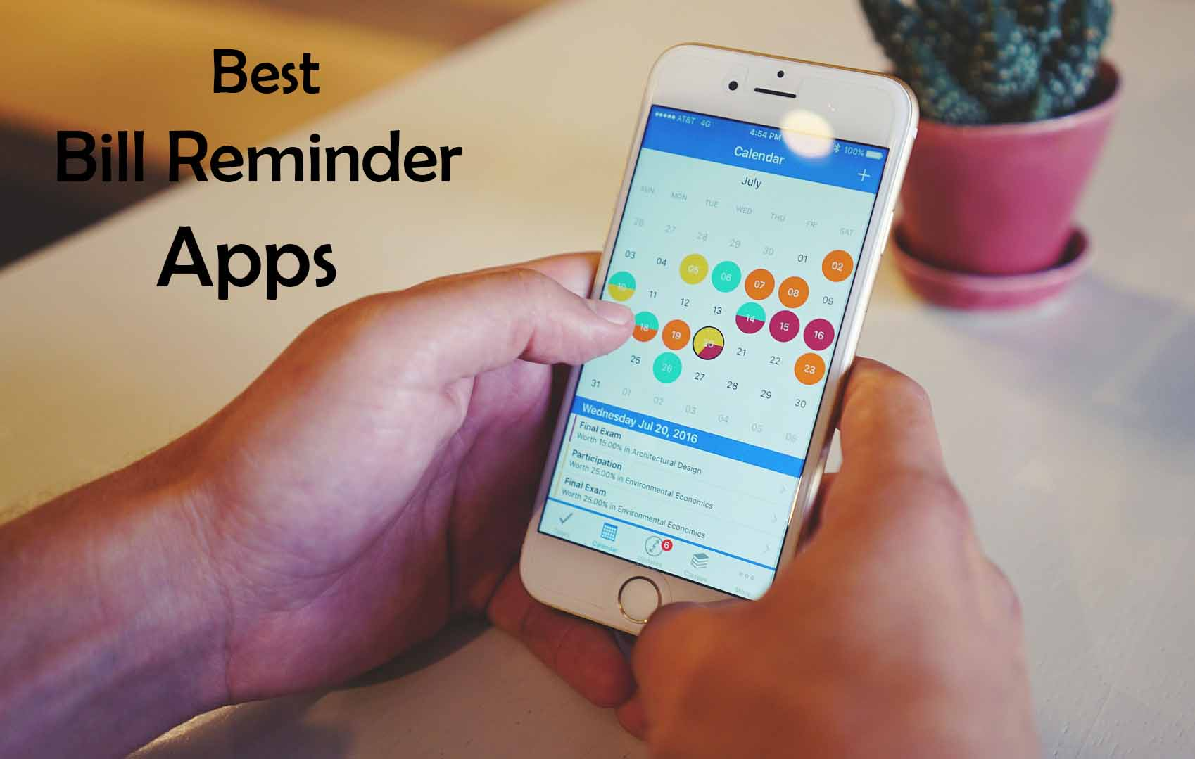 Best Bill Reminder Apps