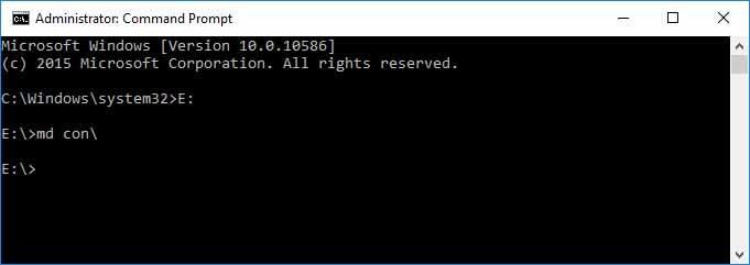 Create Folder Using CMD