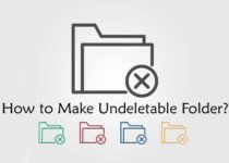 How to Make Undeletable Folder