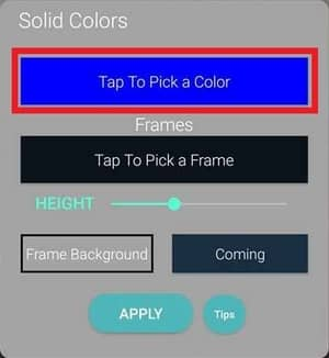 Select Solid Colors