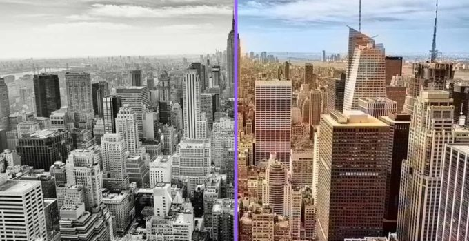 Convert Black and White Photo to Color
