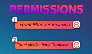 Give App Permission for Changing Call Screen