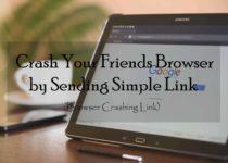 Crash Your Friends Browser