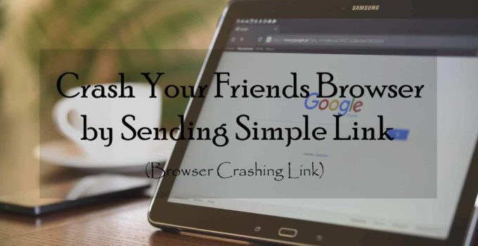 Crash Your Friends Browser