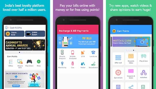 CashNGifts App